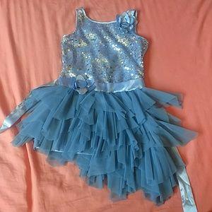 Little girls fancy party dress
